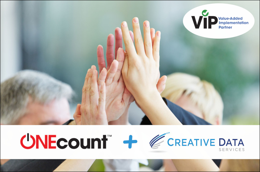 Creative Data Services (CDS) partners with ONEcount's Customer Data Platform