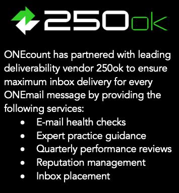 ONEcount 250ok Partnership