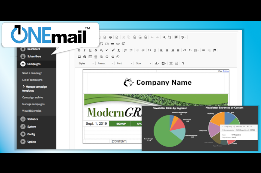ONEmail E-Mail Marketing Engine